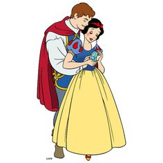 Snow White and the Prince Clip Art ❤ liked on Polyvore featuring home, home decor, wall art, disney, snow white, princesses, backgrounds, cartoons, fillers and disney princess wall art
