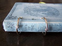 Altered Book ~ Creating a journal from an old book