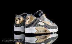 Nike Air Max 90 JCRD PRM QS Ivory / Metallic Gold-Metallic Silver-Black