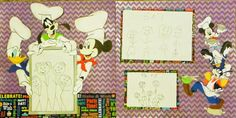 Chef gang frame and Chef Stack Disney Characters