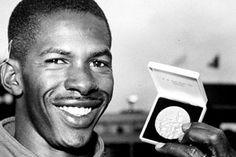 Adhemar Ferreira da Silva foi um atleta brasileiro, primeiro bicampeão olímpico do país. Conquistou as medalhas de ouro no salto triplo nos Jogos de Helsinque 1952 e de Melbourne 1956. Em 2012, foi imortalizado no Hall da Fama do atletismo.