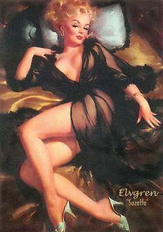 Suzette, en la concepción de Gil Elvgren.