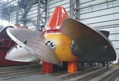 Runner of Kaplan Turbine Unit for Guangxi Dahua 110MW Hydropower Plant | Turbine generators - Product | Chengdu Tianbao Heavy Industry Co., Ltd