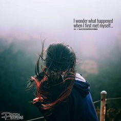 """I wonder what happened when I first met myself... �� Did I squint my baby brown eyes gazing into the mirror and say """"Damn, you look good!"""" in garbled baby talk? �� Did I burst into tears in fright at naked chubby stranger in my momma's mirror? �� Did I dart past the mirror in a frantic exploration mission and catch a quick glimpse of myself and trip up? �� Just wondering. Just idle random thoughts. �� �� TAP-TAP if you agree! �� FOLLOW @successprovrbs Today! �� �� Education ▪ Motivation ▪…"""