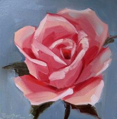 Step by Step Painting Flowers On Canvas Beautiful Simple Rose Painting Art & Art. Step by Step Pai Simple Canvas Paintings, Easy Paintings, Canvas Art, Flower Paintings, Acrilic Paintings, Flower Drawings, Drawing Flowers, Art Drawings, Acrylic Painting Flowers