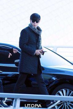 TOP ♡ #BIGBANG @ Incheon Airport to Japan (131206)