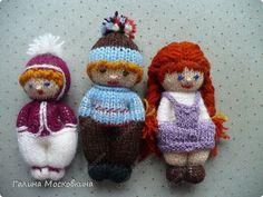 Мастер-класс Вязание: Куколки для внучек Нитки. Фото 2