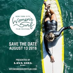 Check out our Surf clothing here! http://ift.tt/1T8lUJC SAVE THE DATE | NYC Women's Surf Film Festival 2016 | We are excited to announce the date (Aug 13 2016). We have a new website (see link in our bio). It's going to be bigger and better than ever! Follow us on Facebook (new page) and share the . More info to follow..Film Festival Photo by @fran90210  of @ivythomas_ @lavagirlsurf #surfergirl #surf #filmfestival #rockawaybeach #rockawaybeachsurfclub #rockawaybeachny #surfer #surfboard…