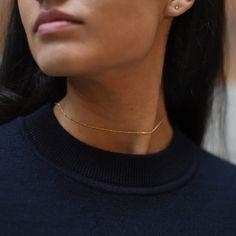 History says fine jewelry for occasions. We say forget occasions, fine jewelry for your damn self. Real Gold Jewelry, Dainty Jewelry, Cute Jewelry, Jewelry Accessories, Unique Jewelry, Gold Jewellery, Jewlery, Minimal Jewelry, Piercings