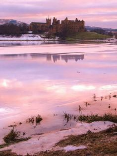 Linlithgow Palace - where Mary Queen of Scots was born.