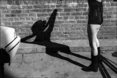 i love the shadow in this image iN-PUBLiC David Gibson, Street Art Love, Street Photographers, Photo Art, Ballet Shoes, Black And White, Image, Collection, Beirut