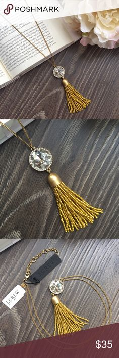 🆕 J. Crew necklace Gorgeous drop necklace is sure to make an outfit pop! Measures 19 inches top to bottom with an adjustable closure. Brand new with tags and will come in dust bag. J. Crew Factory Jewelry Necklaces