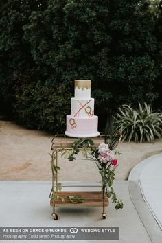 A Personal and Fun-Filled Wedding at Colony 29 in Palm Springs, California Cake Photos, Wedding Album, Confectionery, Palm Springs, Beautiful Cakes, Cake Designs, Wedding Cakes, California, Pure Products