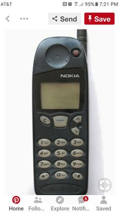 Am I really putting a cell phone on my nostalgia board?