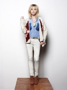 Maison Scotch Lookbook Fall/Winter 2012