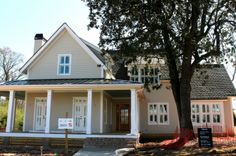 under construction in Senoia - Could this be Southern Living's Wildmere Cottage plan?