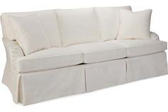 "Lee Industries C1074-03 Sofa.  Look for me in Miller Ironside with a 4"" Band around my base in Miller Spa arriving August 2013."