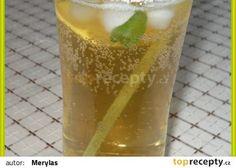 Mátový ledový čaj s citronem a medem recept - TopRecepty.cz