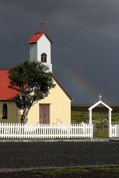 church at Árbær by beegee74, via Flickr