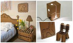 30 Amazing Cardboard DIY Furniture Ideas…