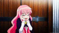 Louise Françoise Le Blanc de La Vallière, Zero no Tsukaima anime pink hair