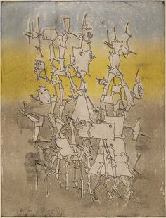 Yves Tanguy - 1947 - Rhabdomancie Mural Painting, Painting & Drawing, Yves Tanguy, Peggy Guggenheim, Gustav Klimt, Fantastic Art, Painters, Art History, Murals