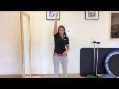 Exercices pour la capsulite de l'épaule - YouTube