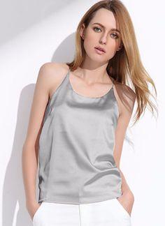 Short Silk Camisole