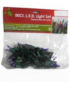 50LED M6 PURPLE 4X4X4 REP