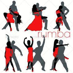 Rumba Dancers Set