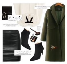 """""""Bows"""" by yexyka ❤ liked on Polyvore featuring Gucci, Philosophy di Lorenzo Serafini, The Row and H&M"""