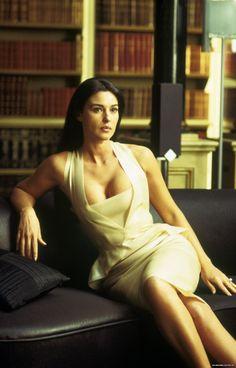 "Monica Bellucci in ""The Matrix Reloaded"" 2003"