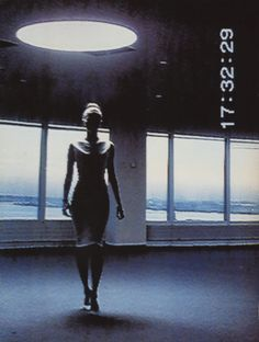 model: Kate Moss; photographer: Nick Knight; Kate moss surveillance, US Vogue 1995
