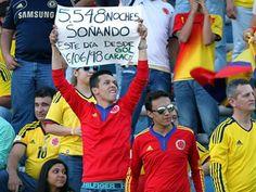 un fanatico. de Colombia