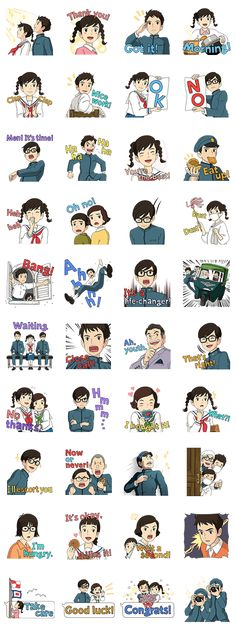 "Stiker ""From Up on Poppy Hill"" dari Studio Ghibli telah tiba! Umi, Shun, dan penduduk Coquelicot Manor dan Quartier Latin hadir juga loh meramaikan set stiker ini. Penuh dengan adegan-adegan masa muda!"