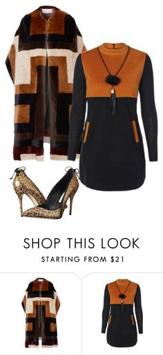 """Untitled #3568"" by carlafashion-246 ❤ liked on Polyvore featuring Gabriela Hearst and Oscar de la Renta"