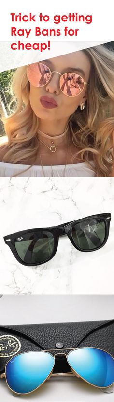 Find stylish Ray-Ban sunglasses! Show off your new style! Shop now and save up to 70%! Install Poshmark for free and shop now!