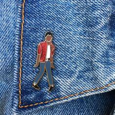 Michael Jackson Pin, Hard Enamel Pin, Thriller, Moonwalk, Jewelry, Art, Artist, Gift (PIN59) by thefoundretail on Etsy https://www.etsy.com/listing/469908493/michael-jackson-pin-hard-enamel-pin