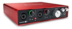 Shop for Focusrite Scarlett Gen) Usb Audio Interface With Pro Tools Ableton Live, Usb, Music Flow, Software, Recording Equipment, Recorder Music, Digital Audio, Tools, Free