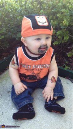 Harley Dude - Halloween Costume Contest via @costume_works
