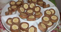 Minden korosztály kedvence a gesztenyeliszttel készített banános, vendégváró falatkák