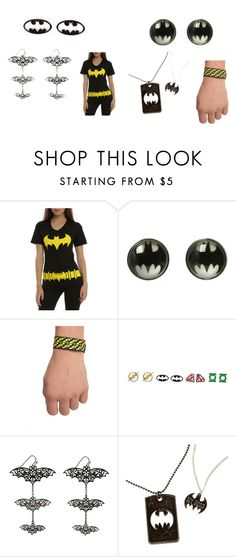 """Batman Rocks"" by born2shine ❤ liked on Polyvore"