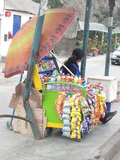 Vendedora de dulces