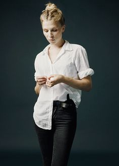 Clemence Poésy #white shirt