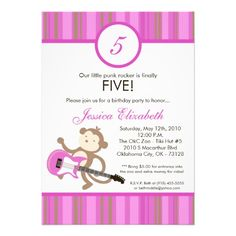 Deals5x7 Girl Rocker Monkey Birthday Party InvitationYes I can say you are on right site we just collected best shopping store that have