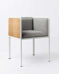 Chair Louis King by Ateliers J&J