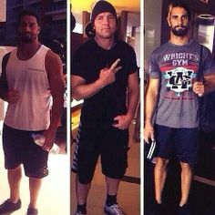 Roman Reigns, Dean Ambrose, and Seth Rollins... The Shield