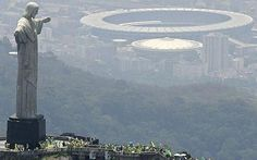 FIFA World Cup 2014!!!!  jesus and futbol stadium in brazil | distant goal the maracana stadium scheduled to host the final is in ...
