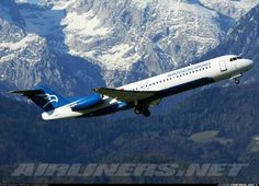 Montenegro Airlines 4O-AOK Fokker 100 (F-28-0100)