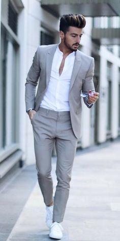 Mens Formal Street Style